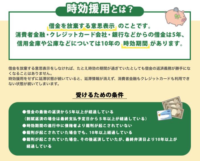横山法律事務所_時効援用